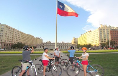 Private Bike Tour - Santiago Culture and Markets 🕙9.30 am