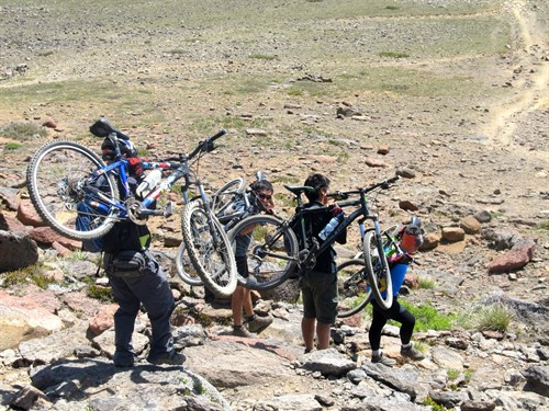 Mountain Bike Tour Talca Chile