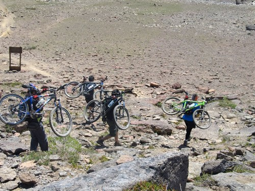 Mountain Bike Tour Andes Chile