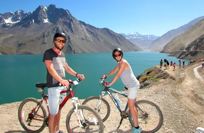 Private Andes Bike Tour – Maipo Valley & El Yeso Reservoir