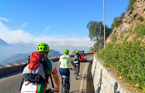 Bike Tour san cristobal Hill