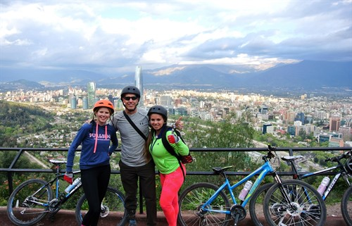 Santiago Bike Tour  cerro san cristobal