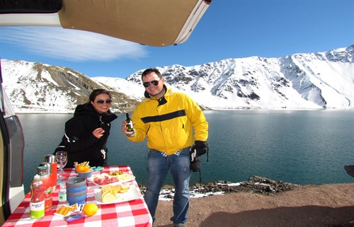 Private tour Cajon del Maipo