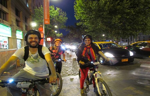 Santiago Bike Tour By Night - Huaso Tours