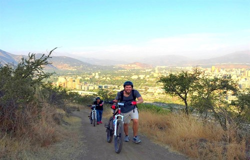 Mountain bike tours in Santiago