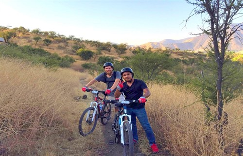 mtb tour Santiago Chile