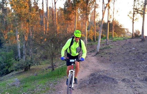 San Cristobal Hill Mountain Bike Tour Santiago Chile