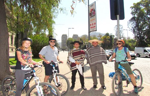 Bike Tours Santiago Chile
