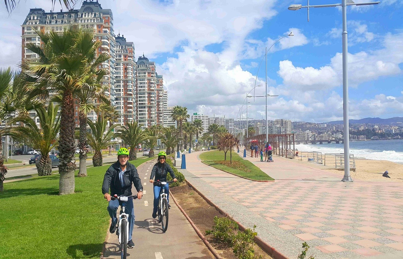 Private Bike Tour Concon - Viña del Mar - Valparaiso