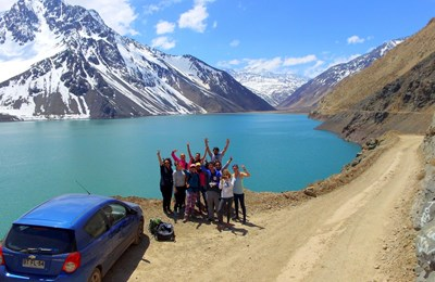 Private Andes Day Trip: Maipo Valley and El Yeso Reserve w/ Winery Tour